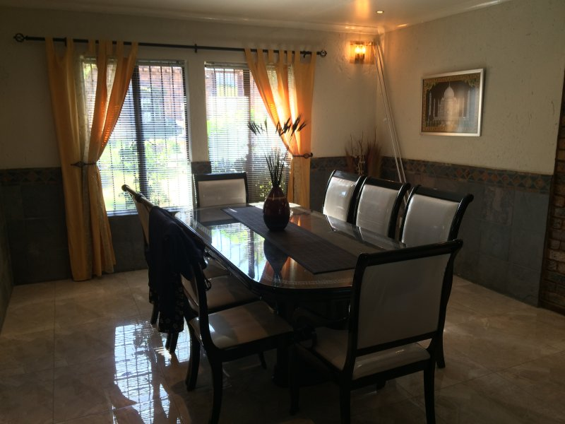 8 seater Dining Room
