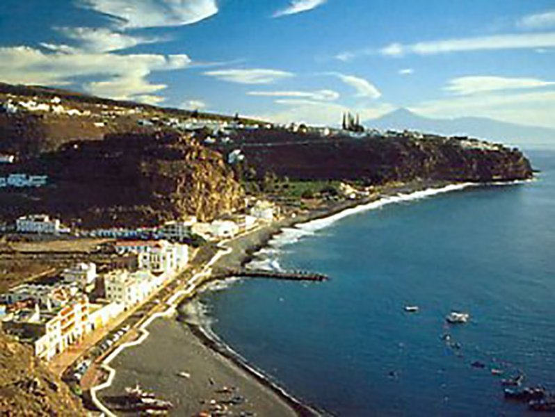 Beach apartment in the south of La Gomera.