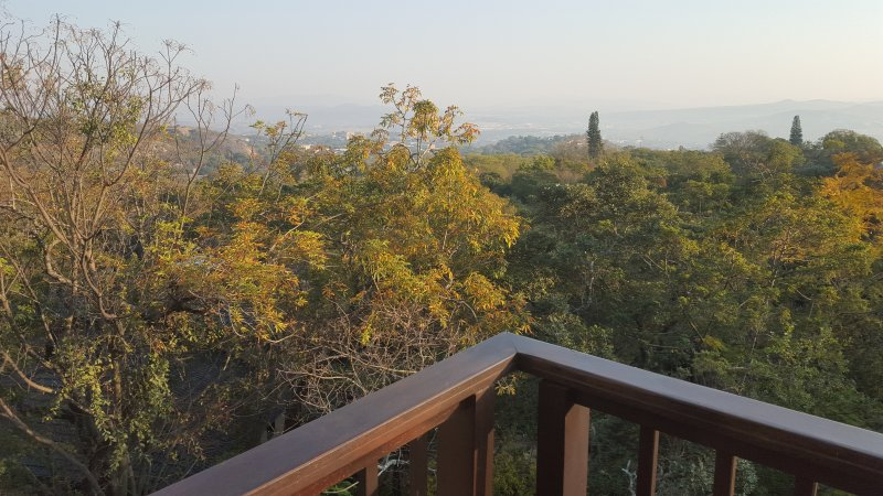 1st Floor balcony view over  Nelspruit - Gateway to the Kruger National Park