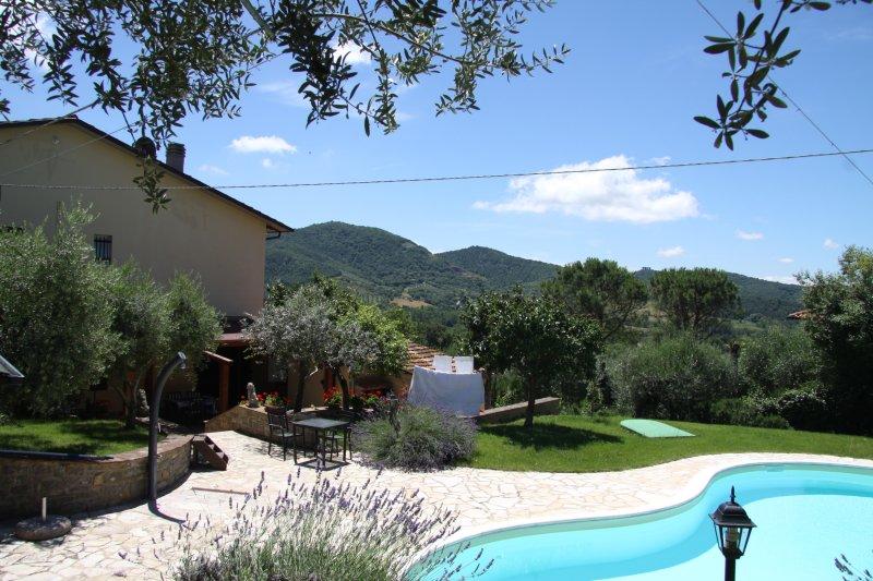 Riant modern vakantiehuis, holiday rental in Sant'Arcangelo