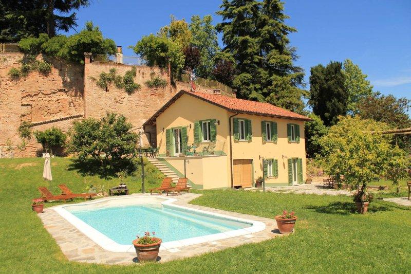 Monolocale grazioso e curato, vacation rental in Province of Asti