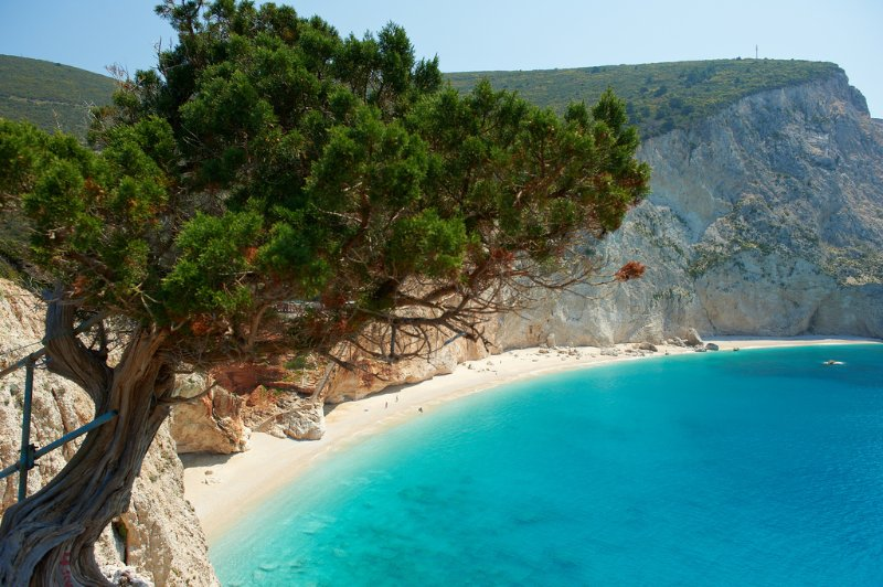 Countless magical beaches in Lefkada... Make sure you visit them all!