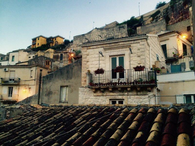 La vue sur les toits!
