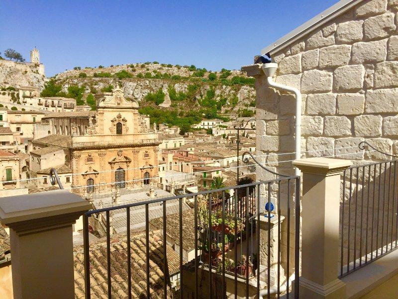 Vue de la terrasse (Cathédrale San Pietro)