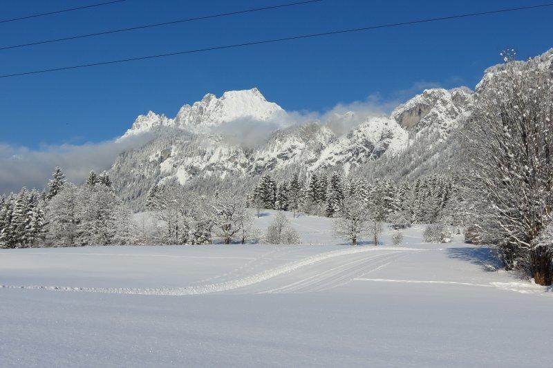 Neve passeggiata nelle vicinanze di Landhaus Florian