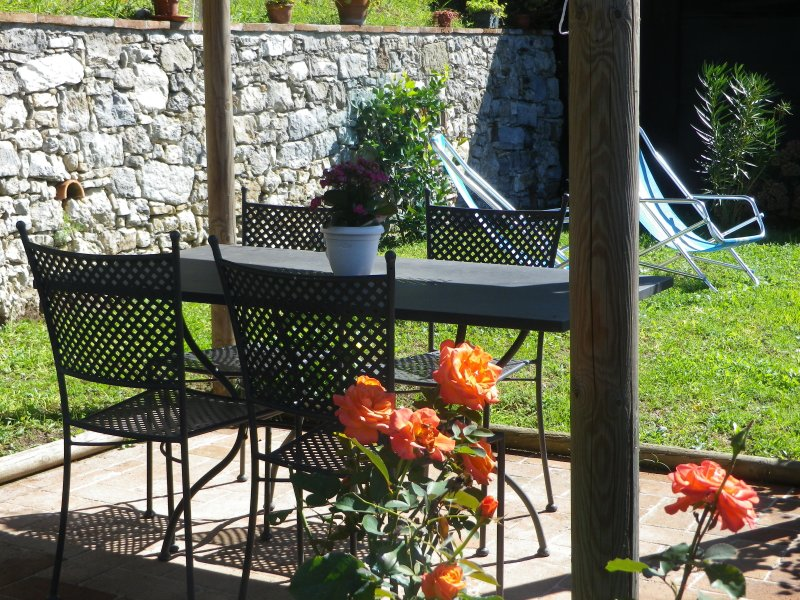 A nest in a little hamlet up on the hill., holiday rental in Orbicciano
