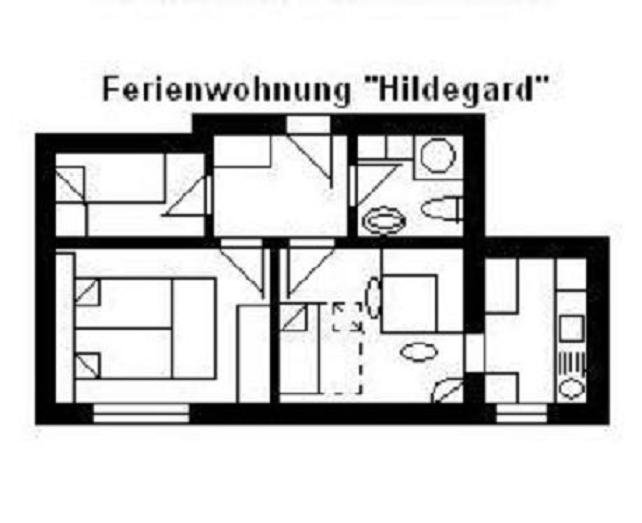 FeWo 'U2' für 3/6 Pers., 25 km bis Frankfurt/Nord, holiday rental in Ober-Moerlen