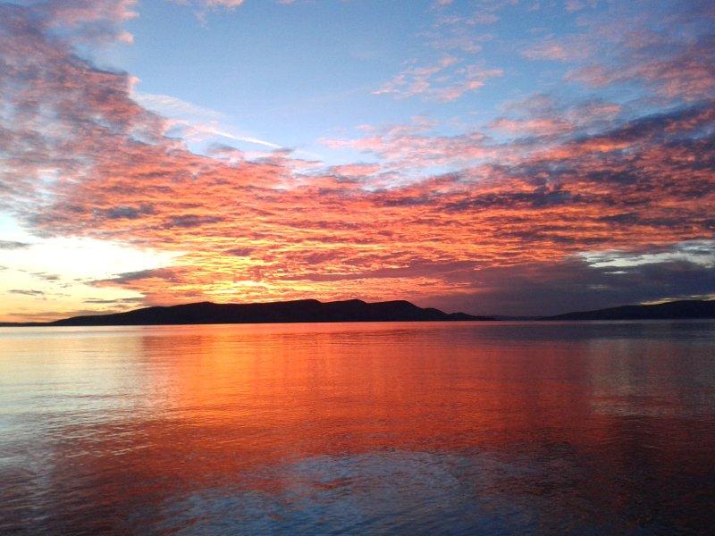 Sunset Senj