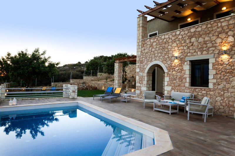 Villa_Nicolas-luxury home, Plaka, vacation rental in Almyrida