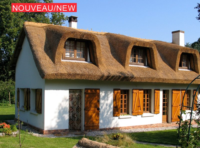 A lovely cottage at 330 m from the sea , 6km from Etretat ;-)!