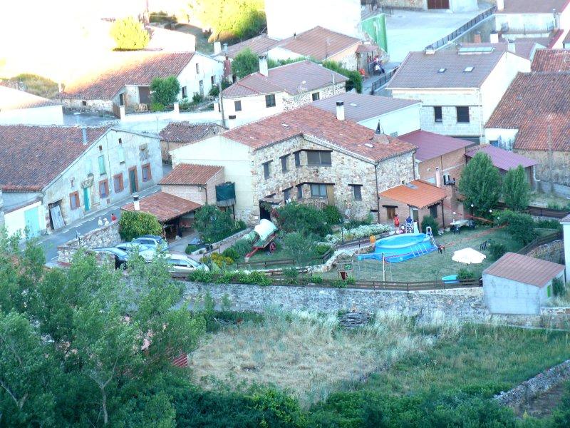 Gården och pool