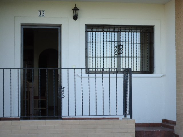 La entrada a la propiedad
