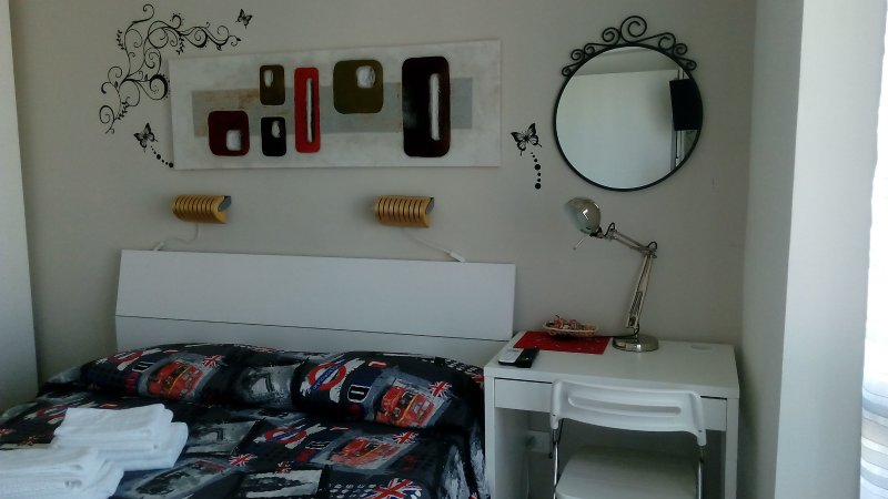 Room with bathroom