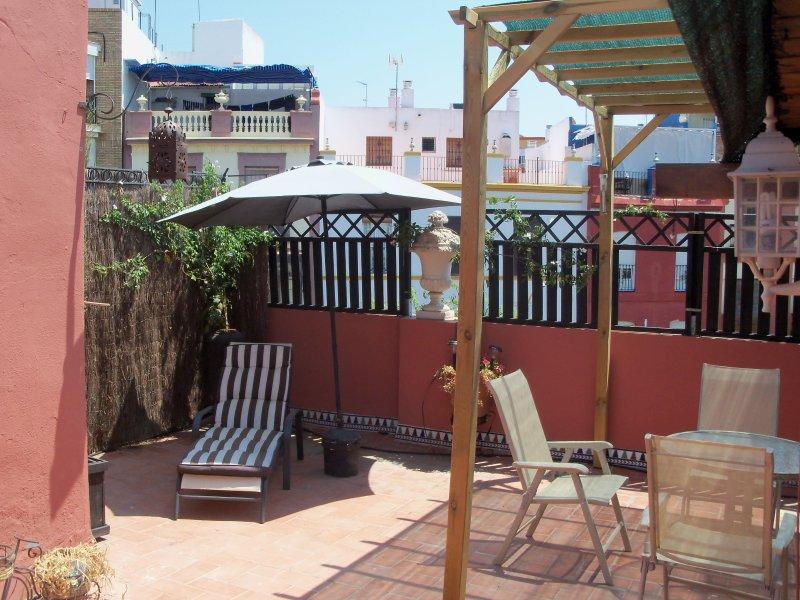 private Terrasse für Sie!