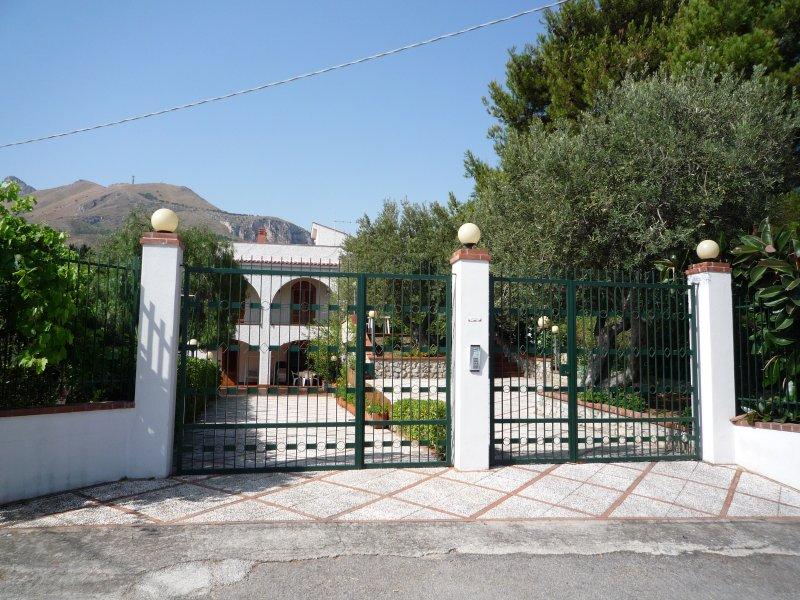 Villa είσοδο