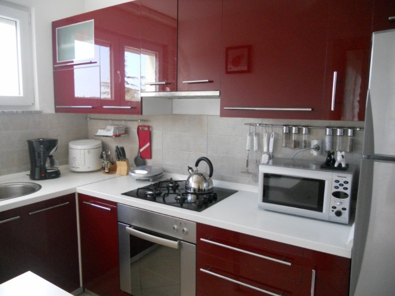 Küche (Mikrowelle, Toaster)