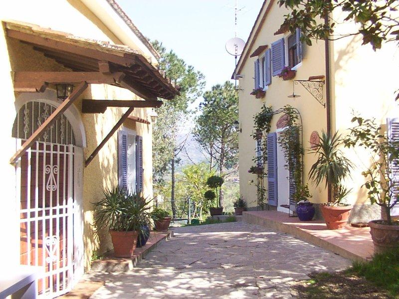 Tuscan Villa on top of the hill, aluguéis de temporada em Monsummano Terme
