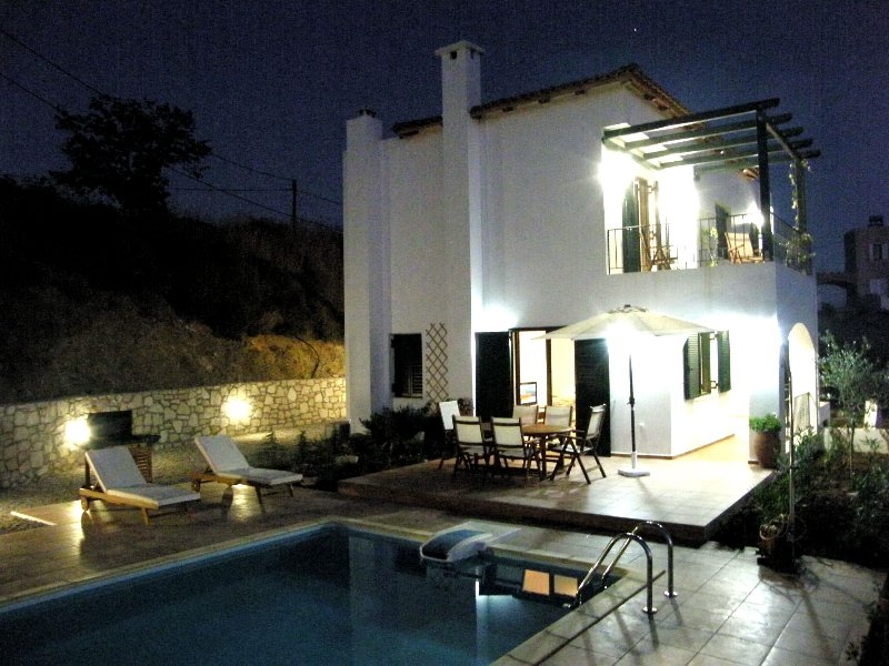 Villa Anemos, Rethymno, Crete, holiday rental in Kastellos