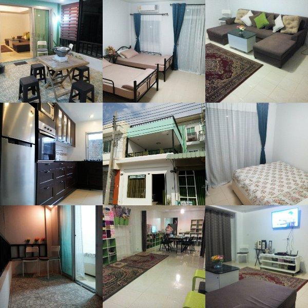 Suburban Thailand townhome. Real Thai experience., vacation rental in Samut Prakan
