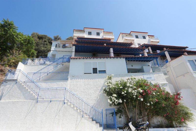 Διαμέρισμα με θέα στη Θάλασσα για 1-3 ενήλικες, location de vacances à Plomari