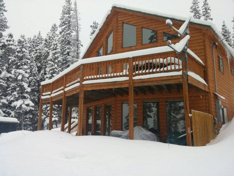 Inverno na cabine!