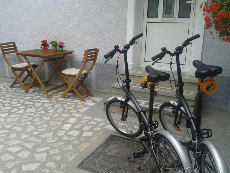 ubicación Yard - bicicletas para turistas