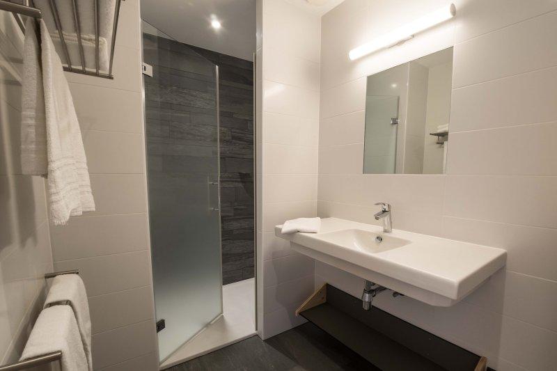 Bathroom Bedroom 2, large shower 120cm x 90cm