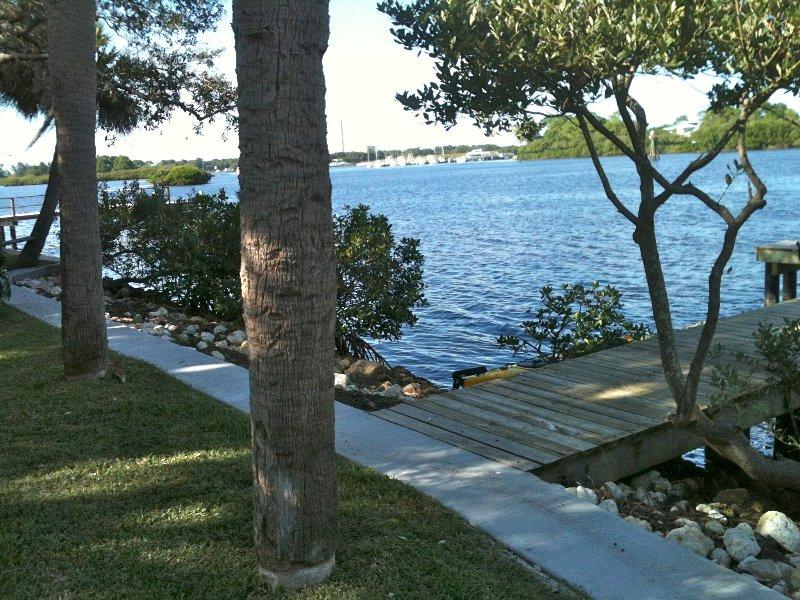 Quiet Waterfront Home, Gulf-access, alquiler de vacaciones en Tarpon Springs