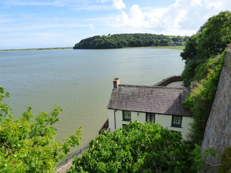 The Boathouse where Dylan Thomas lived