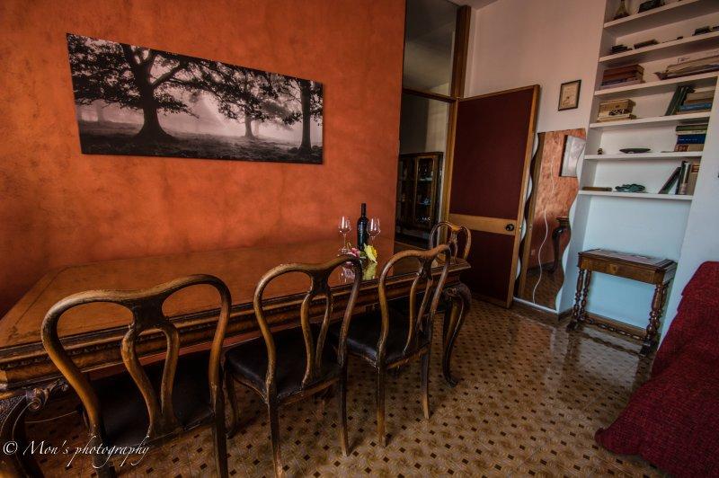 La sala de estar / naranja
