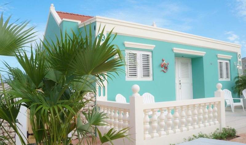 Green Cunucu Villa with Pool, holiday rental in Noord