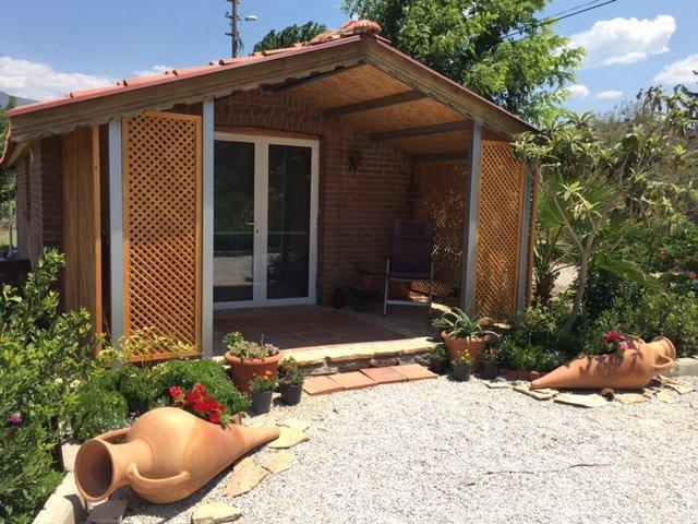 Cottage Entrance with enclosed veranda