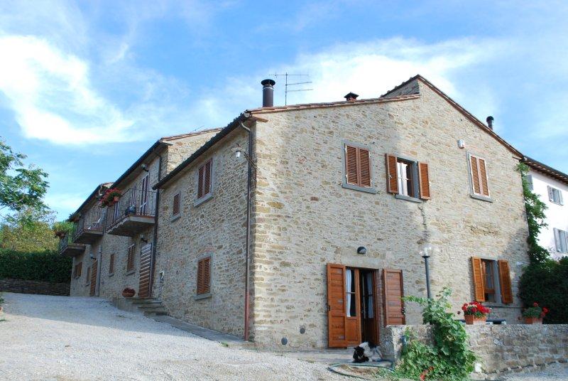 Casa Podere San Firenze, monolocale, holiday rental in Palazzo del Pero