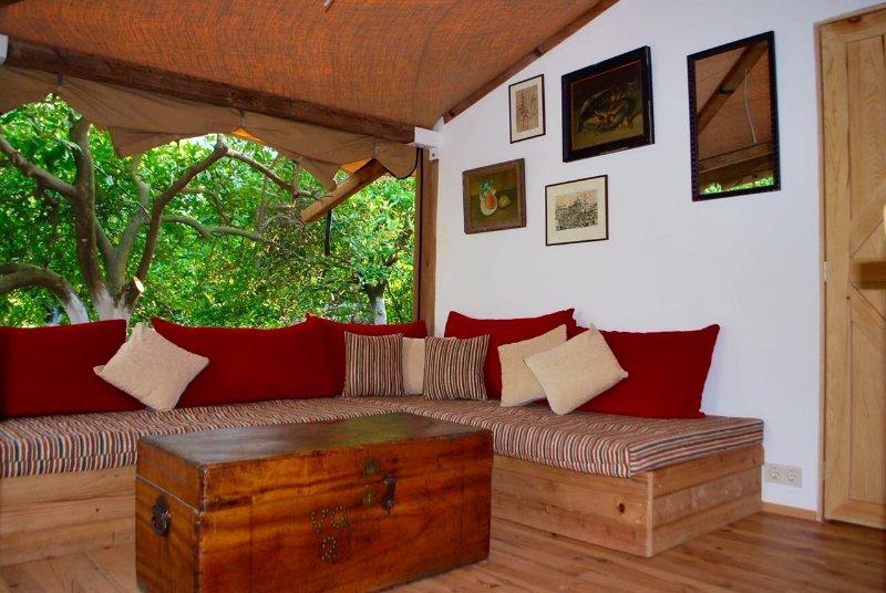Sala de estar, área de estar
