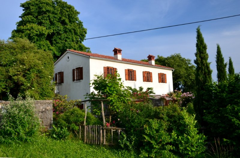 Semi-detached house with garden