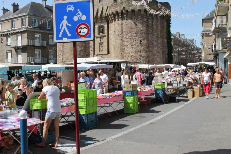 Vire Market is on Friday morning