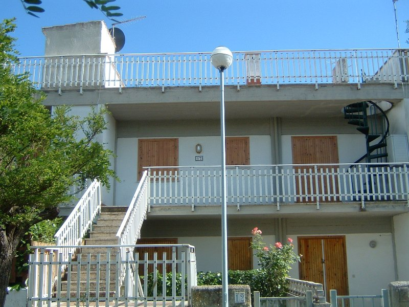 Staircase to my home, terrace and entrance door + roof terrace
