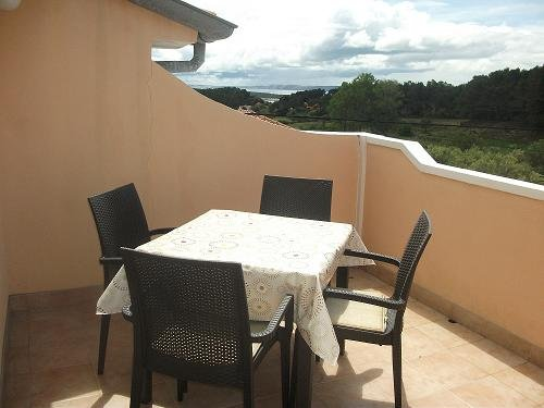Apartment is at second floor of house with the big balcony and with the beautiful view at the sea.