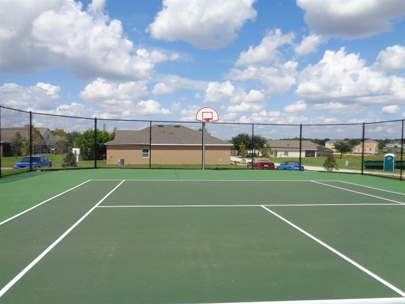Tennis Courts / BasketBall Court
