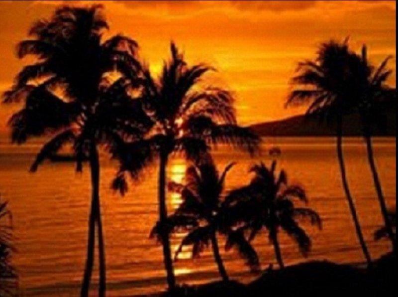 Muchos impresionantes puestas de sol ...