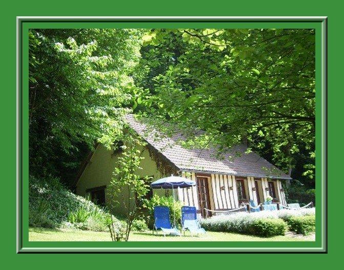 Gîte à la campagne, entre rivière et bois., holiday rental in Bretteville-Saint-Laurent