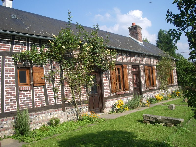 Les Aubépines, Traditional Normandy Colombage, holiday rental in Neufchatel en Bray