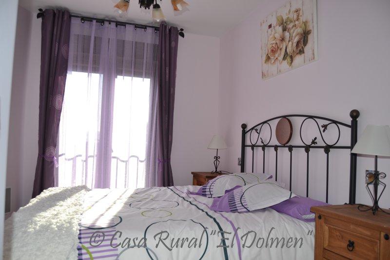 Master camera da letto Casa El Dolmen.