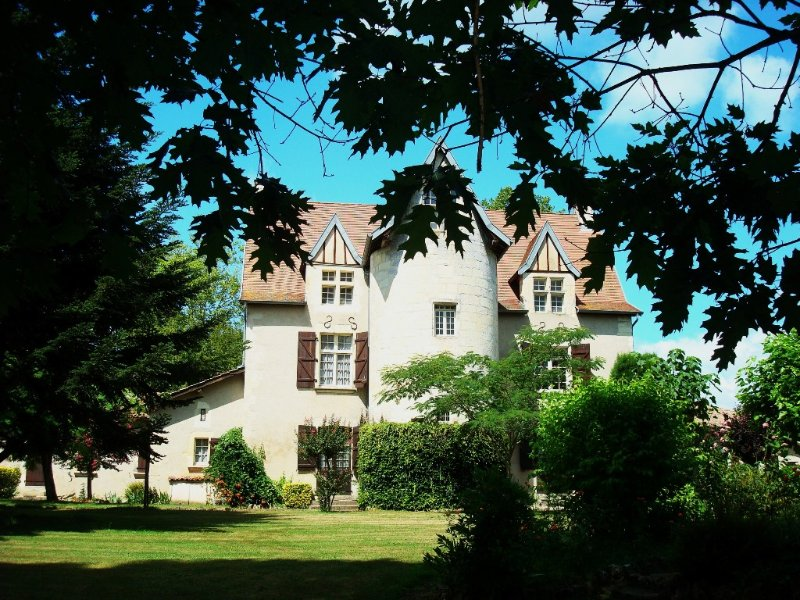 château du Rau  gîtes  locations de vacances, holiday rental in Hinx