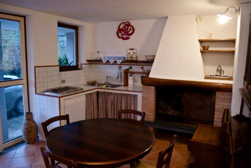 Piccolo appartamento con giardino, holiday rental in Ripa-Pozzi-Querceta-Ponterosso