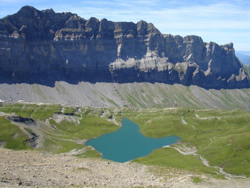 Lac d'Anterne en été