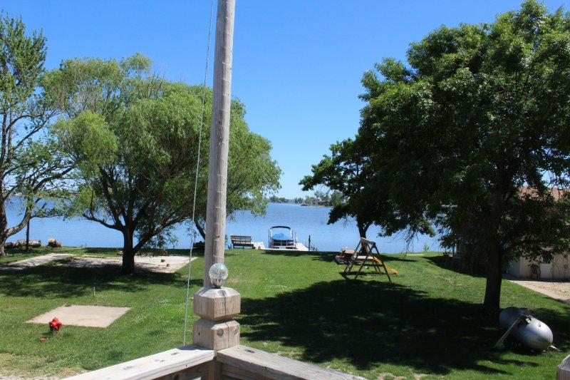 Vista del lago desde la cubierta