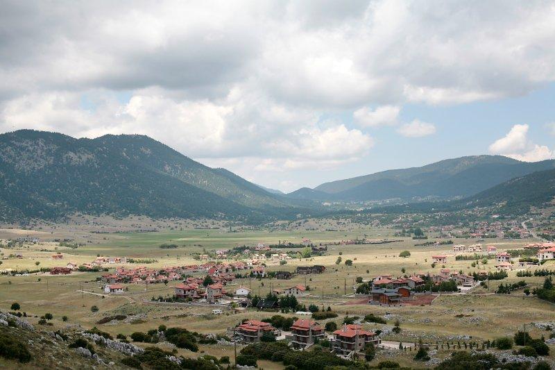 Vue panoramique de la région