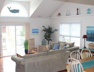 Huge 5BR/3BA Townhouse, 1 Block to Beach & Boardwalk!, vacation rental in Wildwood