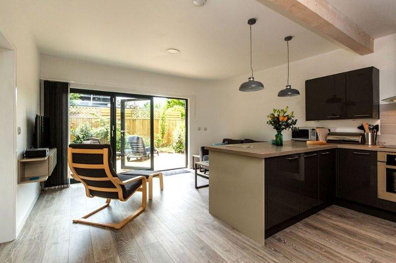 Stylish open-plan interior